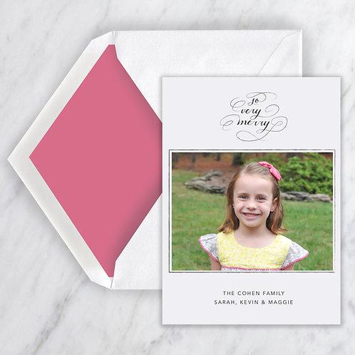 Paige Flourish Holiday Note