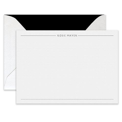 Flat Printed Draper Card