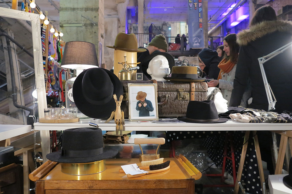 Fortin Hats at the Holy Shit Design Market Berlin
