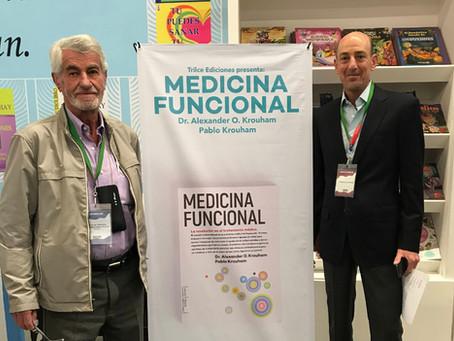 """Presentación del Libro """"Medicina Funcional"""" en la FIL"""