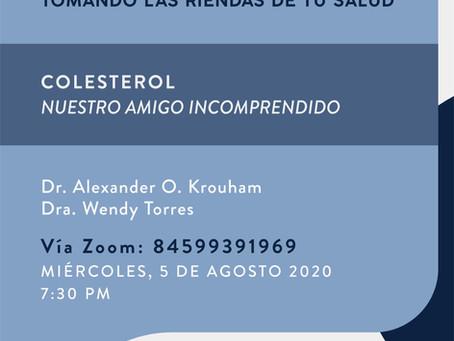 Colesterol: Nuestro amigo incomprendido