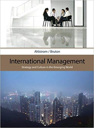 International Management Strategy and Culture in Emerging World