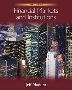 Financial Markets and Institutions 10th Edition