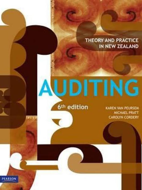 Auditing: Theory And Practice In New Zealand (6th Edition)
