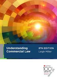 Understanding Commercial Law 8th Edition
