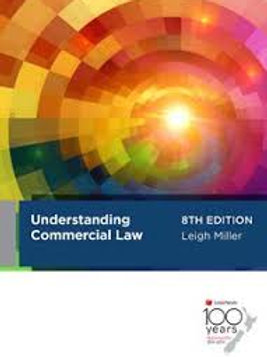 Understanding Commercial Law 8th Ed