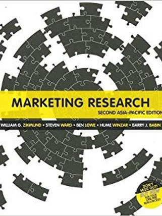 Marketing Research: Asia Pacific Edition