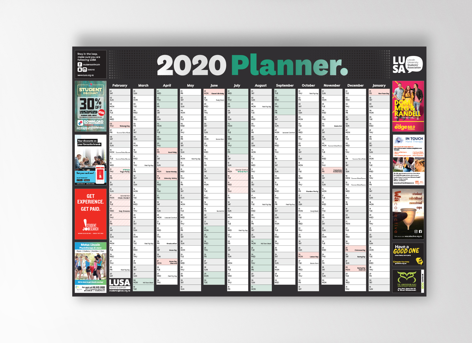 2020 Wall Planner copy