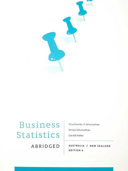 Business Statistics 6th Ed