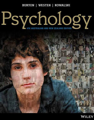 Psychology 4th Australian and New Zealand Edition