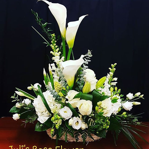 SA 2 (in white ceramic vase)