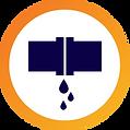 Identificación de filtraciones de agua