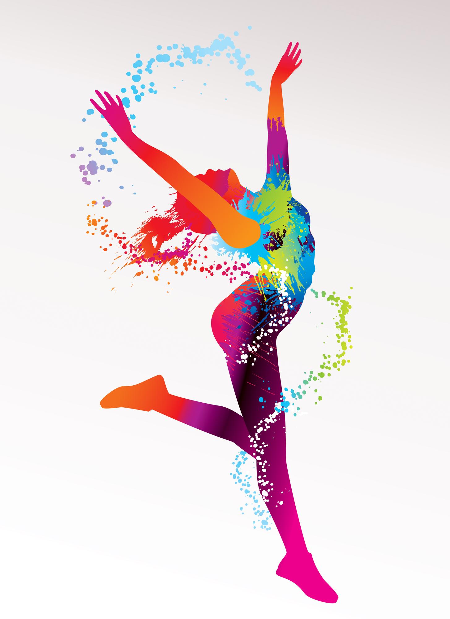 я танцую разноцветные картинки губы должны быть