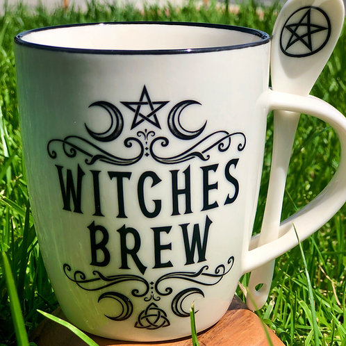 """'Witches Brew"""" Mug and Spoon Set"""