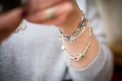 liberty fabric bracelet