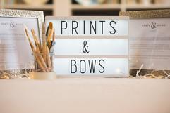 Prints & Bows