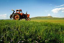 Tractor en el Trabajo