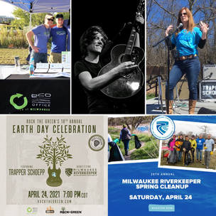 🌎 Earth Day, May Day & A Look Upstream with Trapper Schoepp, Milwaukee Riverkeeper & ECO 🐟