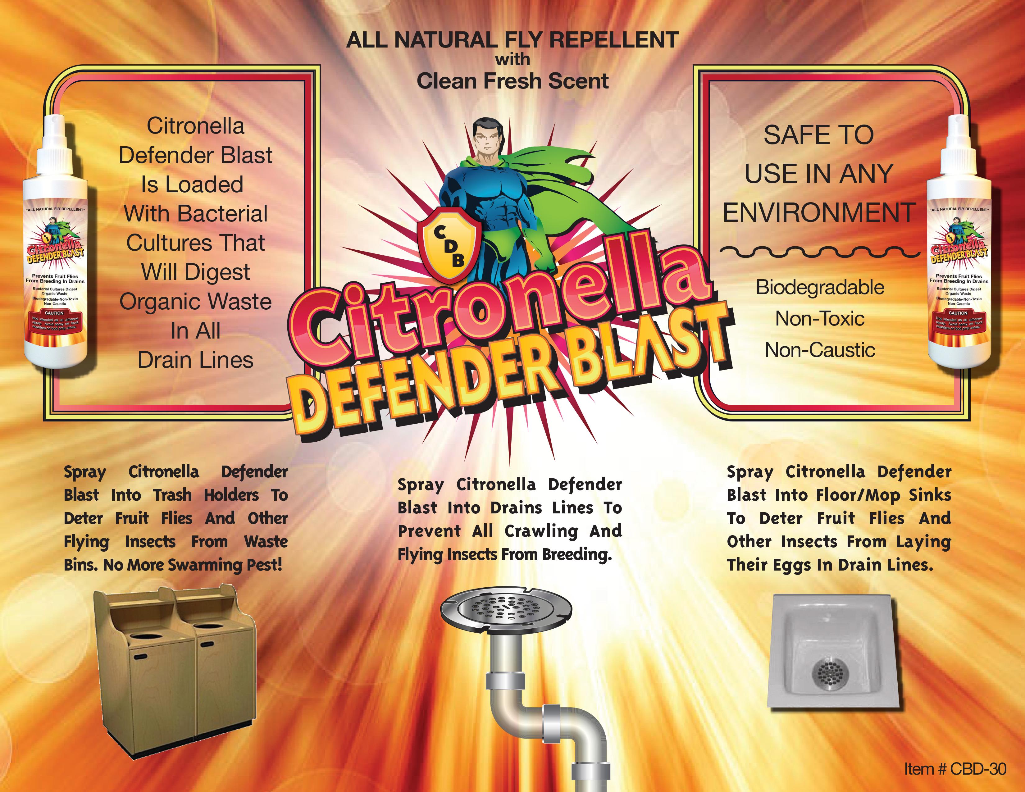 Citronella Defender Blast