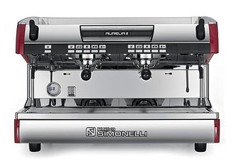 Nuova Simonelli Espresso Coffee Machines- The Aurelia II is the espresso machine for those who are looking for unprecedented performance and reliability. With four different models and a number of group head configurations, you can be sure the Aurelia II has a solution to your espresso needs.   Perfect for: High Quality Shops, High Volume Locations, Demanding Professionals, Barista Competitors, Specialty Coffee Shops