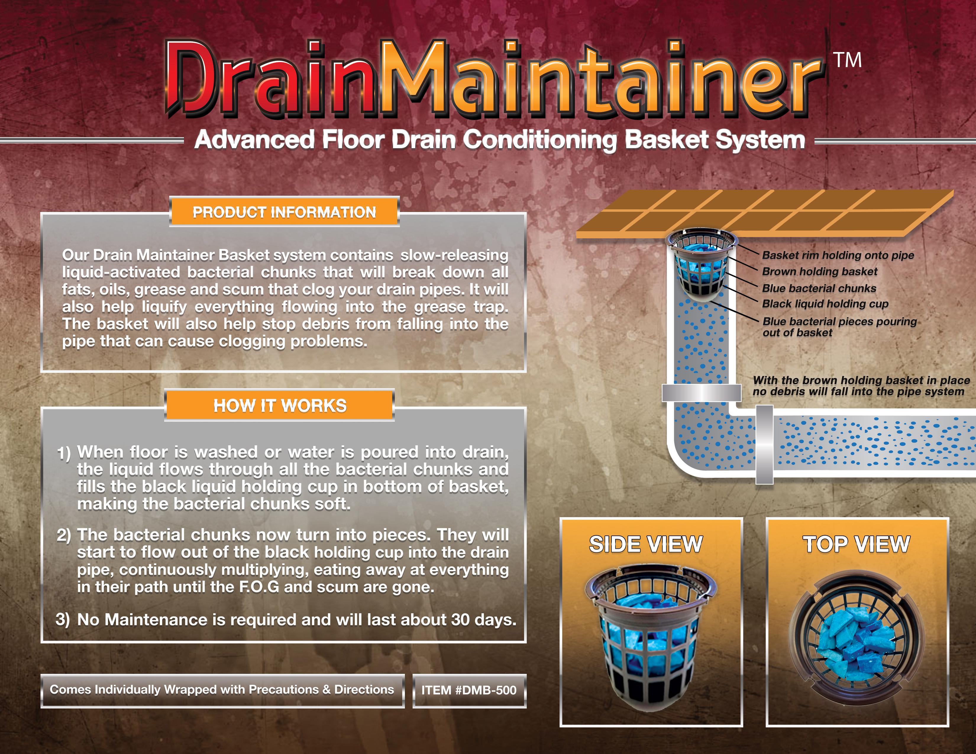 DrainMaintainer Brochure