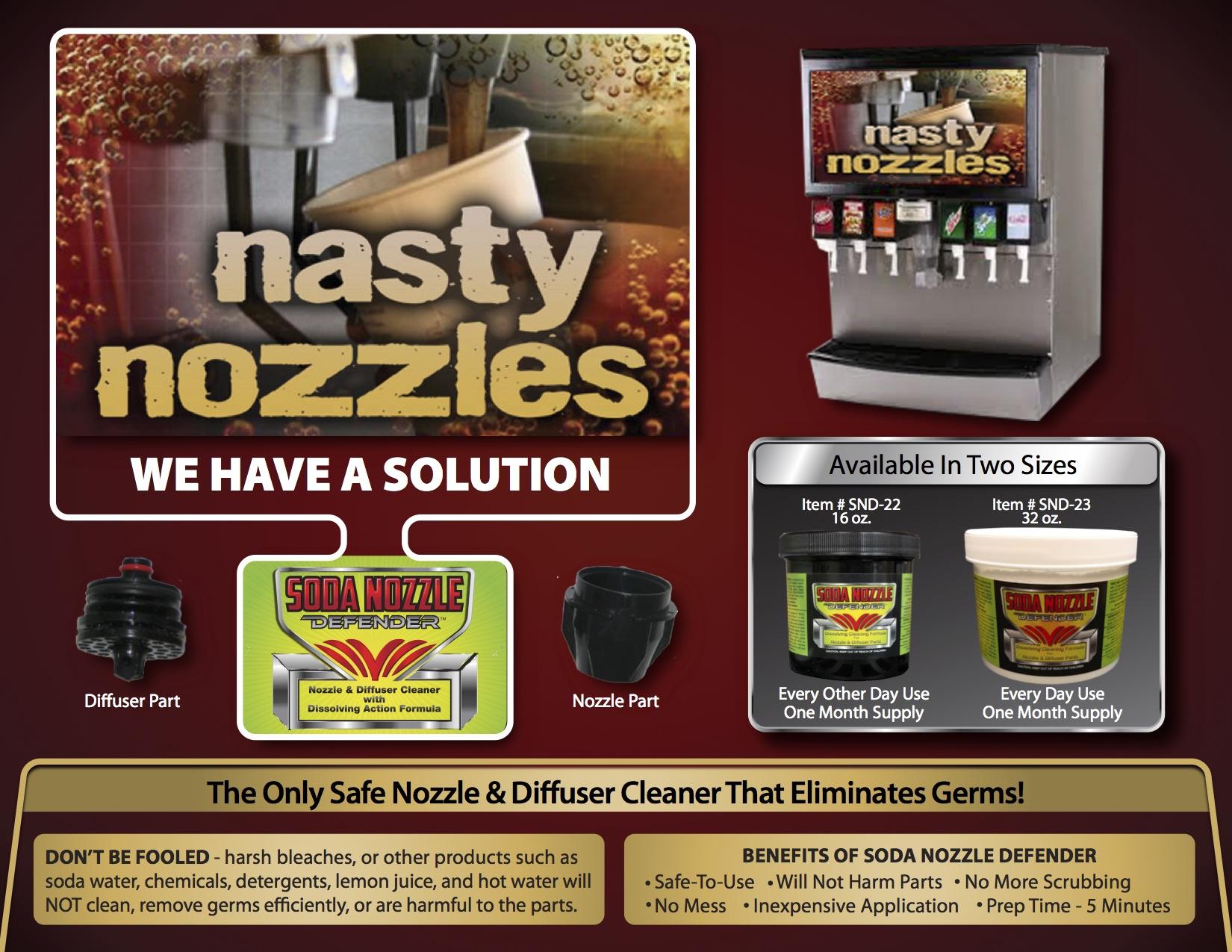 Soda Nasty Nozzle  Brochure
