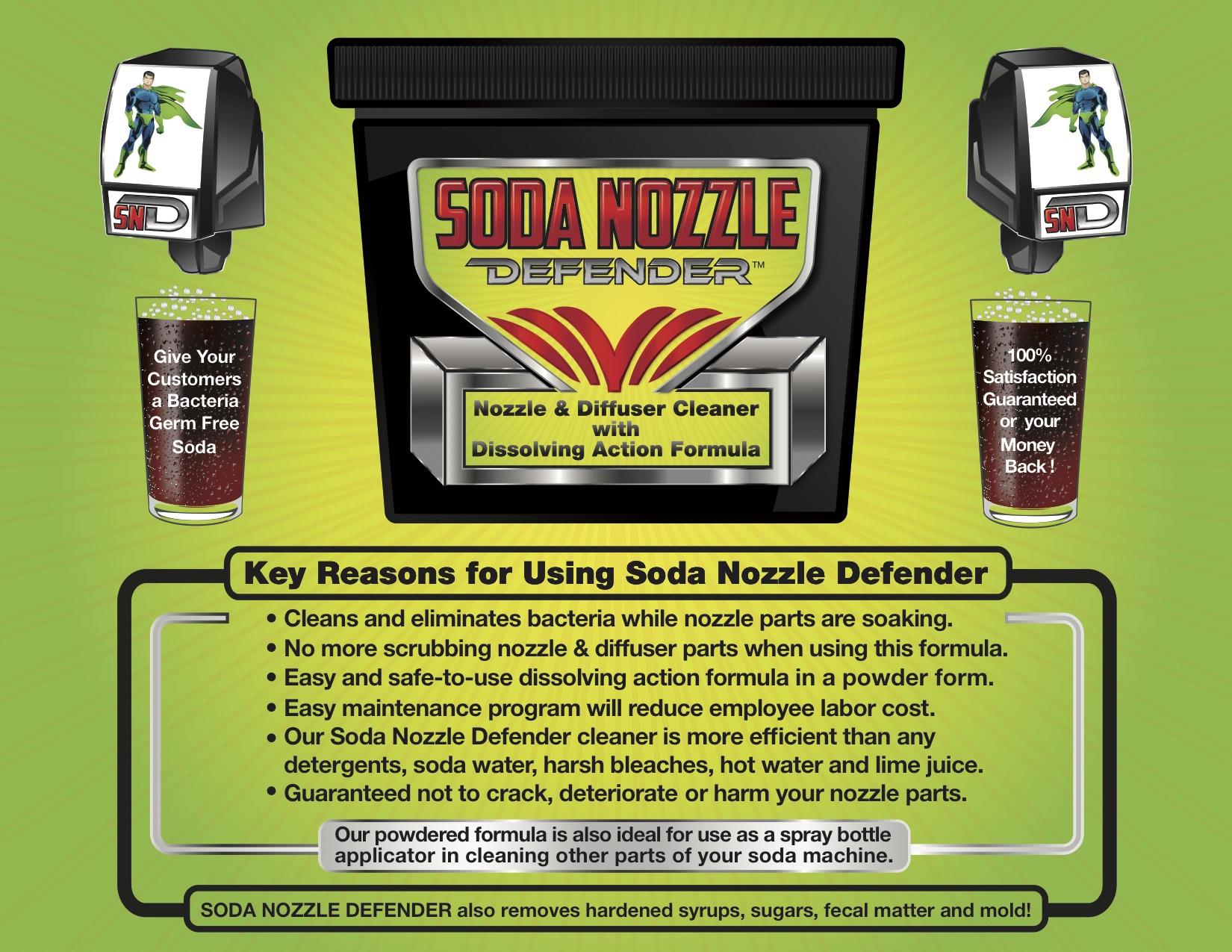 Soda Nozzle Defender  Brochure