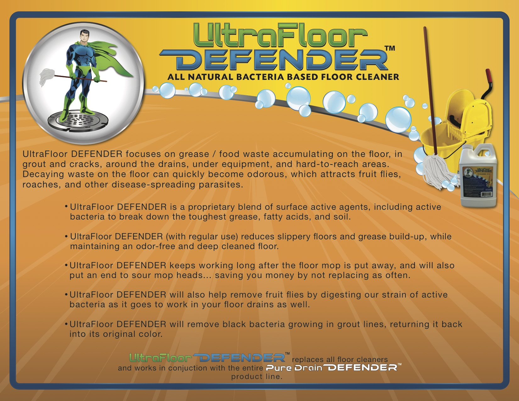 UltraFloor Defender Brochure