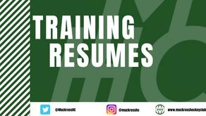 Senior Training Resumes