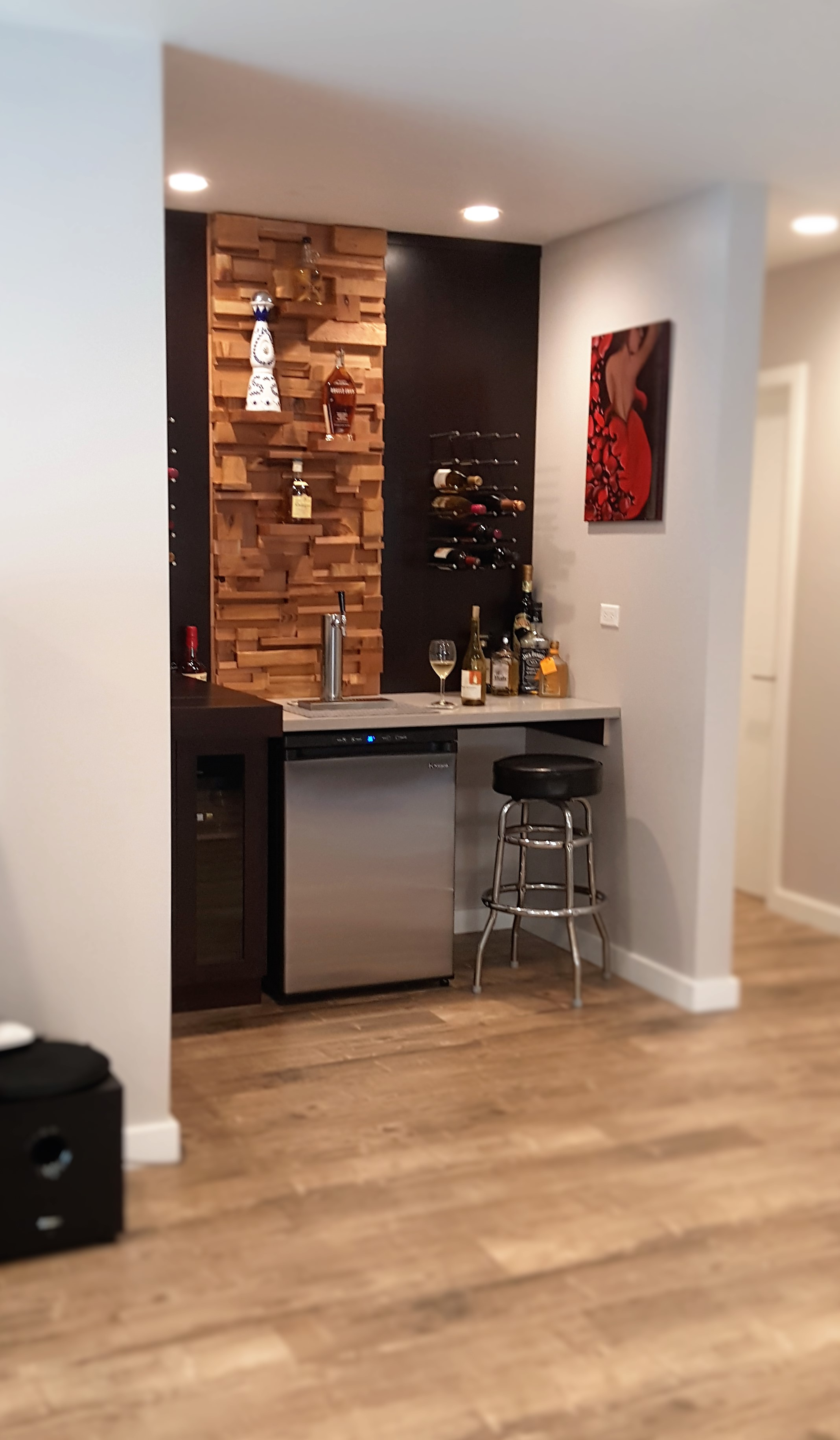 Oakmont - Custom Made Bar Area