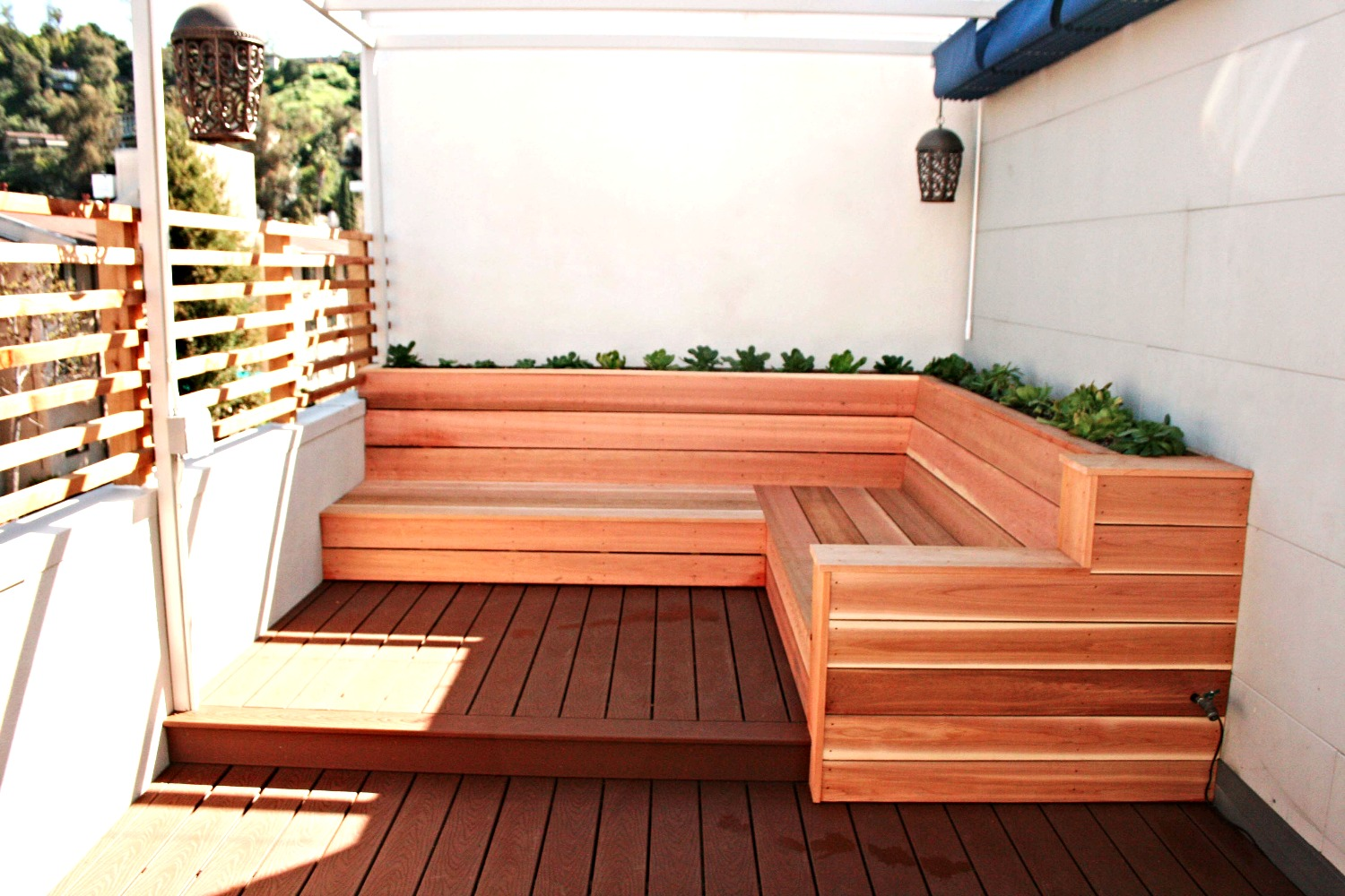 Eagle Rock - Trex Deck Remodel