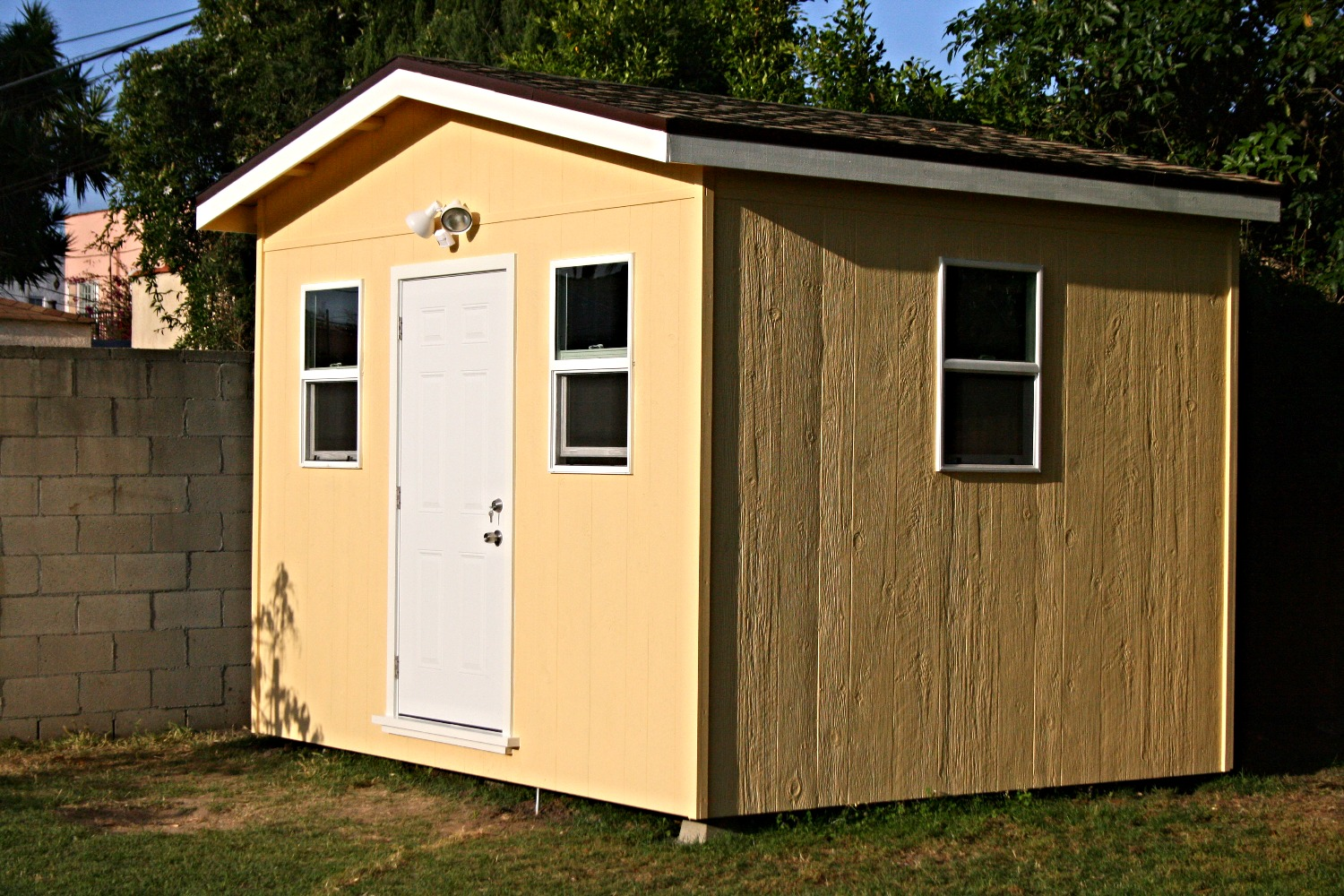 Custom Made Exterior Shed
