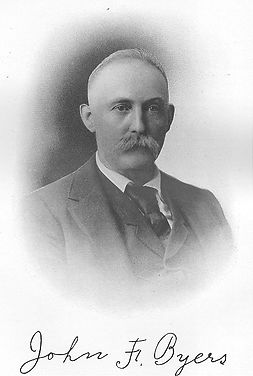 John F. Byers, the founder of Byers Machine Company in Ravenna, Ohio