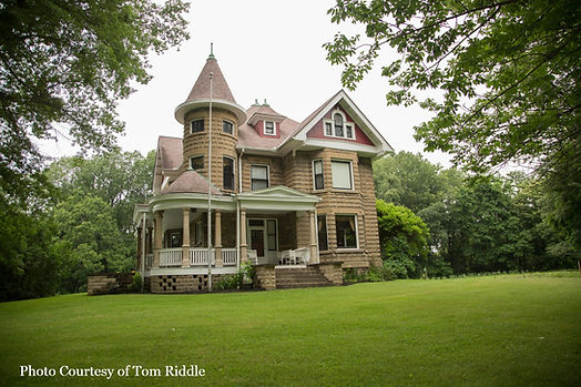 Byers' Castle, in historic Ravenna, Ohio
