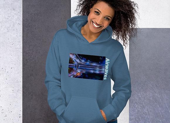 """""""Airwaves"""" Inspired Unisex Hoodie"""