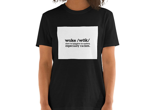 Woke Short-Sleeve Dark Unisex T-Shirt