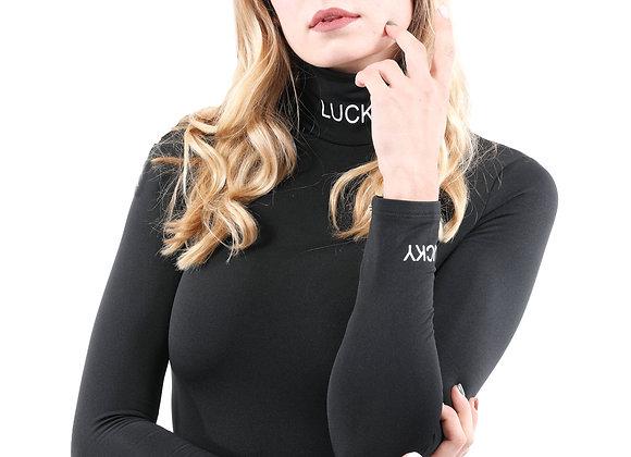 Shirley Lucky Print Bodysuit