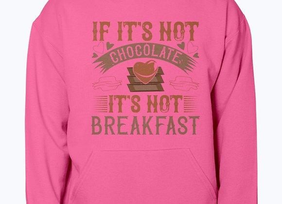 Chocolate For Breakfast Hoodie