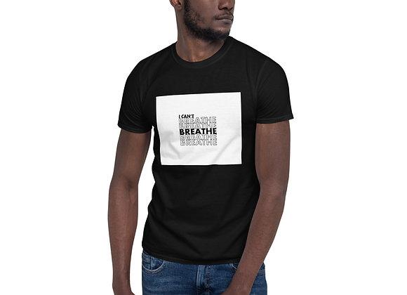 I Can't Breathe Short-Sleeve Dark Unisex T-Shirt