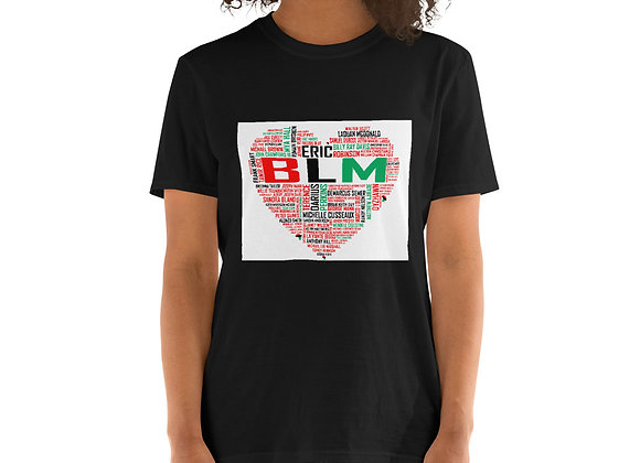 BLM Short-Sleeve Dark Unisex T-Shirt