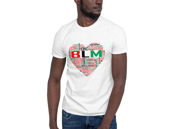 BLM Short-Sleeve Light Unisex T-Shirt