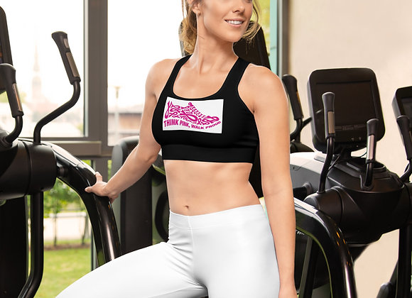 Think Pink Walk Proud Sports Bra
