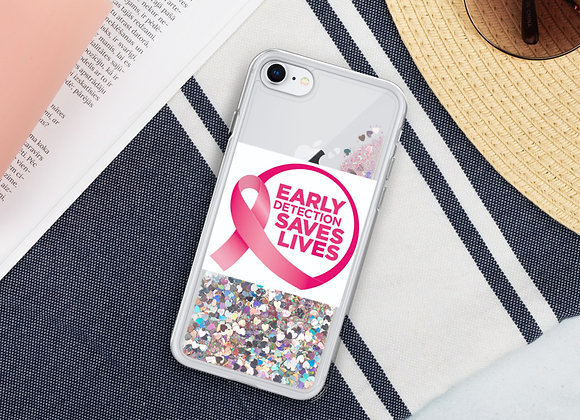 Early Detection Liquid Glitter Phone Case