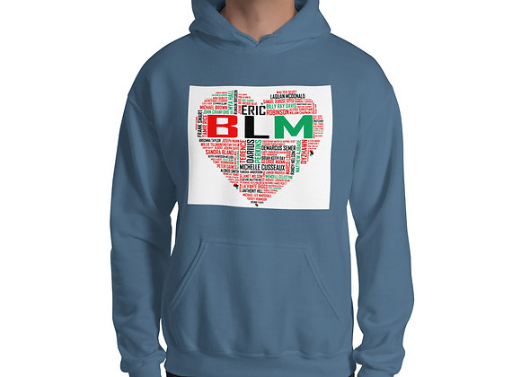 BLM Dark Unisex Hoodie
