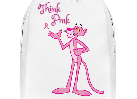 Pink Panther Think Pink Minimalist Backpack
