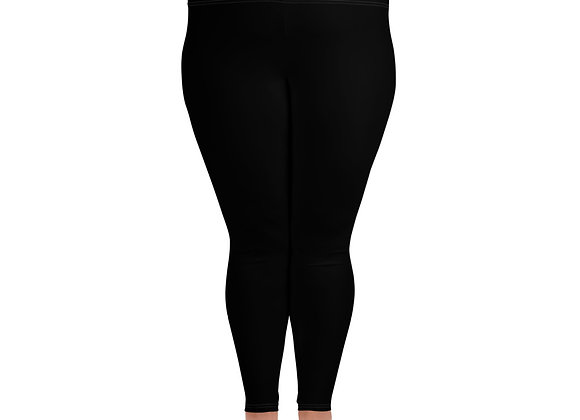 Think Pink Walk Proud All-Over Print Plus Size Leggings