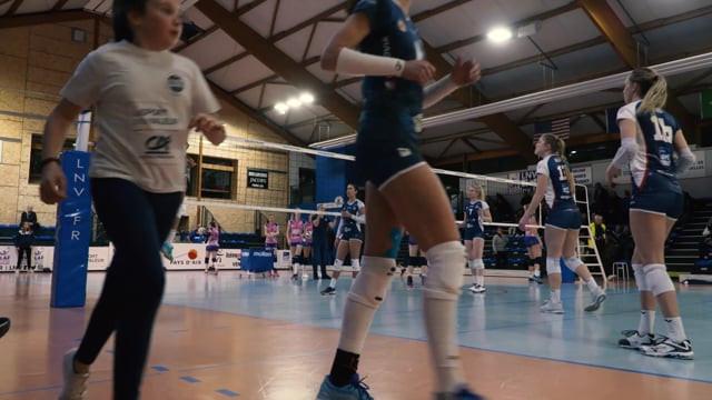 Reportage Sport (LNV Volley Elite Féminine))