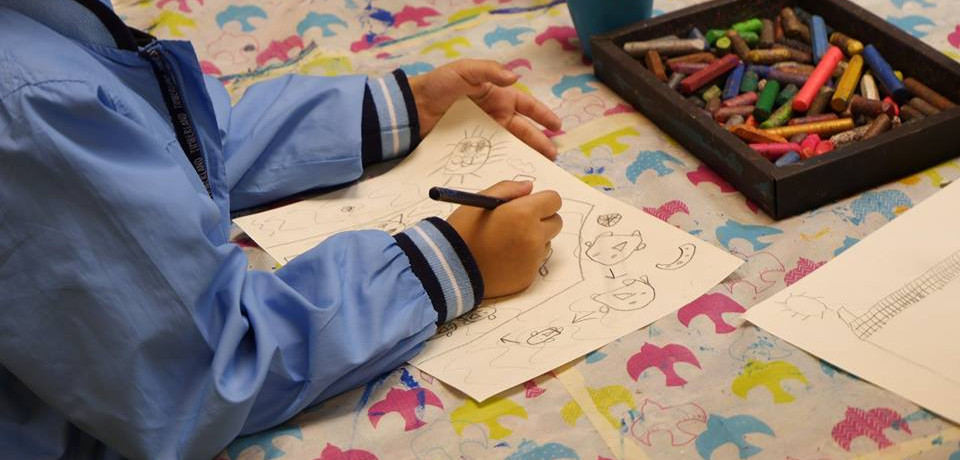 想要了解一個人的內心世界,特別是家人、朋友及孩子的心理,可以從簡單的一幅塗鴉開始。