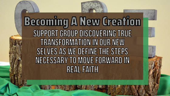 Becoming A New Creation