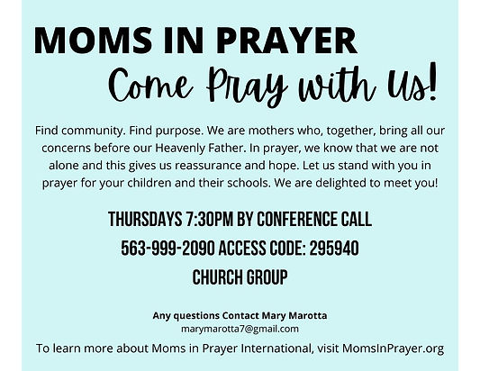Come Pray with Us Zoom Moms in Prayer.jp